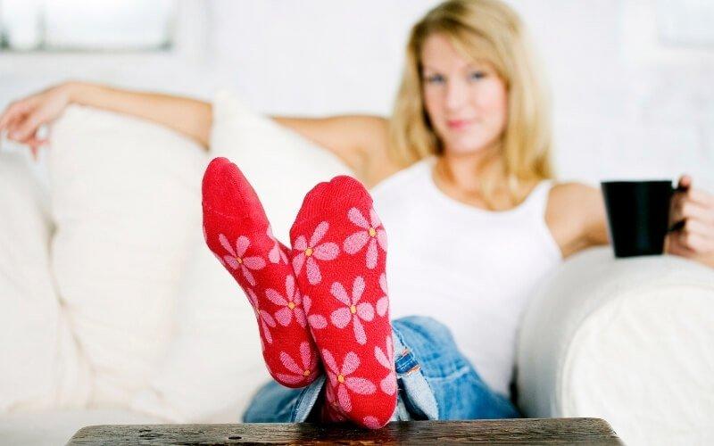 Calzini contro gli effetti della menopausa