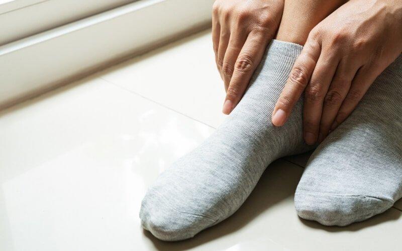 Calzini per la prevenzione della sindrome di Raynaud