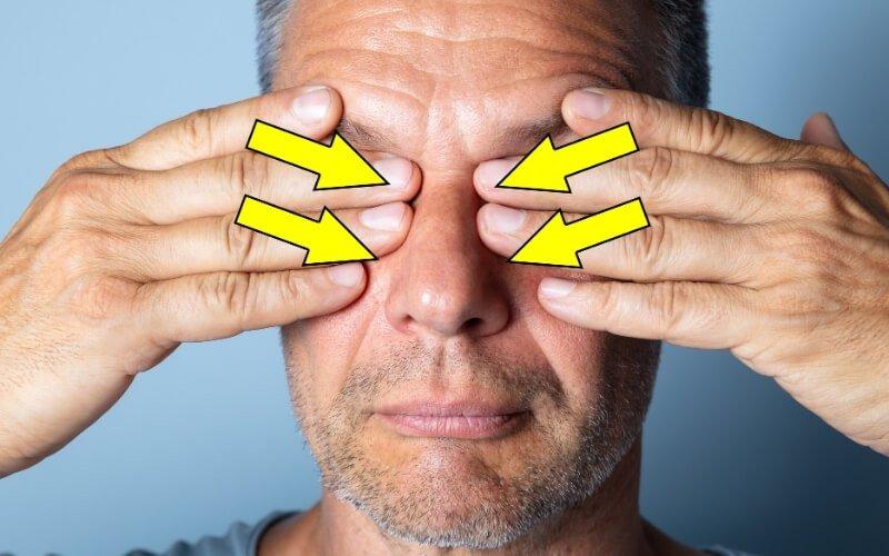 Il massaggio dei bulbi oculari