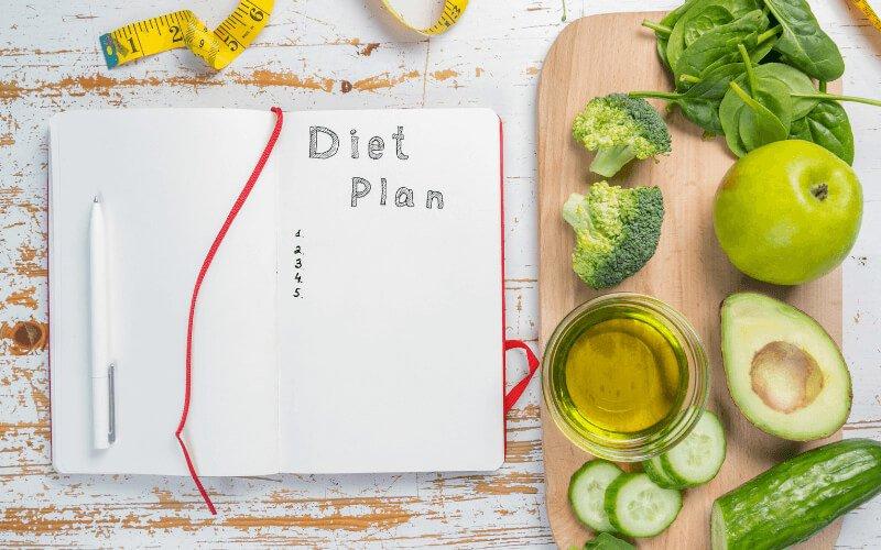 Schema dieta dei 7 giorni