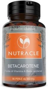 NUTRACLE Beta carotene 80 perle da 460 mg
