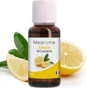 Olio essenziale di limone organico