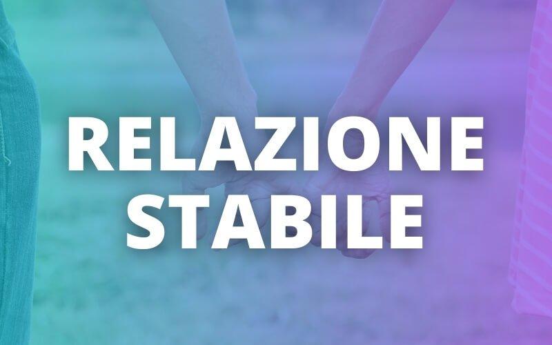 relazione stabile