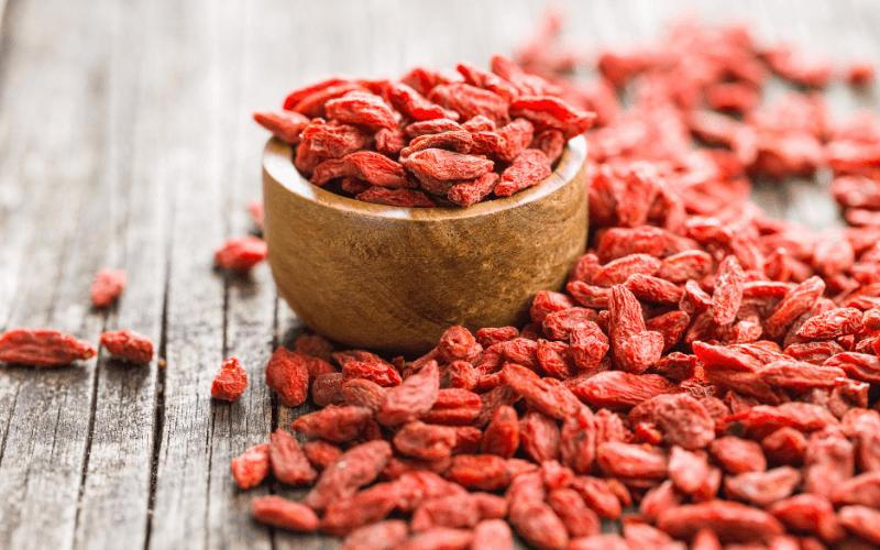 Valori nutrizionali delle Bacche di Goji