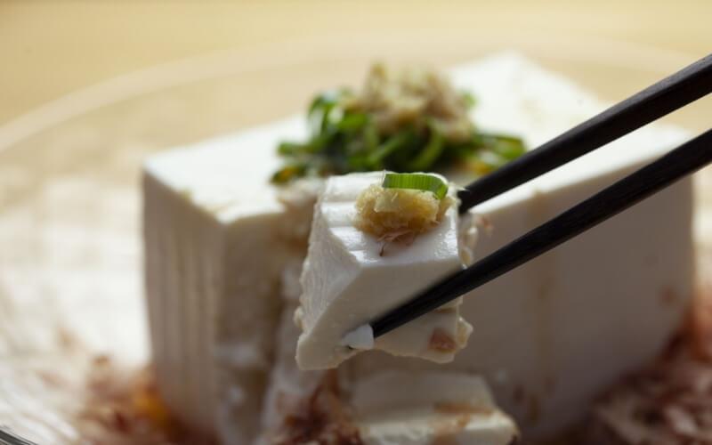 tofu zenzero