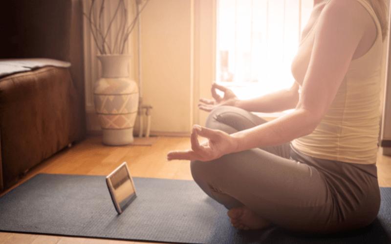 meditazione in un momento