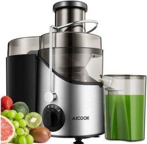 Aicook - Centrifuga Frutta e Verdura Acciaio Inox
